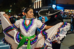 October 31, 2018 - New York, New York, USA - October 31, 2018 - NEW YORK - New Yorkers celebrate Halloween at the 45th annual Village Halloween Parade on 6th Avenue in Manhattan. (Credit Image: © Taidgh Barron/ZUMA Wire)