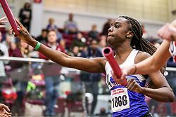 womens 4x400 relay, heat 3, UMass Lowell<br /> BU John Terrier Classic <br /> Indoor Track & Field Meet