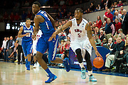 DALLAS, TX - FEBRUARY 01: Markus Kennedy #5 of the SMU Mustangs drives to the basket against the Memphis Tigers on February 1, 2014 at Moody Coliseum in Dallas, Texas.  (Photo by Cooper Neill/Getty Images) *** Local Caption *** Markus Kennedy