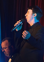 Old Town Hall, Stratford, London - 28 November 2015. Singers Marc Almond, Ronan Parke, Heather Peace and Asifa Lahore headline the Peter Tatchell Foundation's inaugural Equality Ball, a fundraiser for the foundation's LGBTI and human rights work, with guest of honour Sir Ian McKellen  joined by Michael Cashman. PICTURED: Marc Almond.  //// FOR LICENCING CONTACT: paul@pauldaveycreative.co.uk TEL:+44 (0) 7966 016 296 or +44 (0) 20 8969 6875. ©2015 Paul R Davey. All rights reserved.