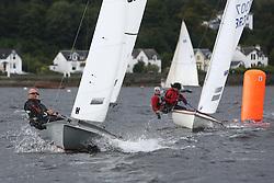 Marine Blast Regatta 2013 - Holy Loch SC<br /> <br /> Flying Fifteen, 698, Ffifty Shades of Grey, Rory MacLean, Classic <br /> <br /> Credit: Marc Turner / PFM Pictures