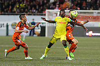 Ismael BANGOURA - 20.12.2014 - Lorient / Nantes - 17eme journee de Ligue 1 -<br />