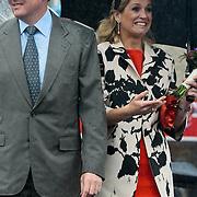NLD/Wemeldinge/20100430 -  Koninginnedag 2010, kroonprins Willem - Alexander en partner Maxima