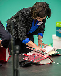 Council lawyers pour over election law manuals before the second recount in North East Fife constituency where the margin of victory was only 2 votes.<br /> <br /> © Dave Johnston/ EEm