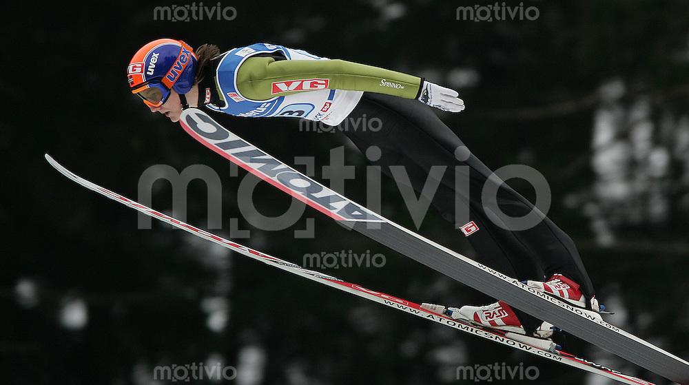 JACOBSEN-Skispringen, Vierschanzentournee 2006/2007, Innsbruck ,Anders Jacobsen (NOR) in Aktion,