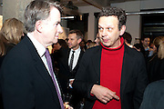 LORD MANDELSON; TOM DIXON, Wallpaper  Design Awards in partner ship with aSton Martin. The Edison, 223-231 Old Marylebone Road, London. 12 January 2011. . This year it is in partnership with Aston Martin.-DO NOT ARCHIVE-© Copyright Photograph by Dafydd Jones. 248 Clapham Rd. London SW9 0PZ. Tel 0207 820 0771. www.dafjones.com.