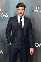 Oliver Cheshire attending the Lost in Space event to celebrate the 60th anniversary of the OMEGA Speedmaster held in the Turbine Hall, Tate Modern, 25 Sumner Street, Bankside, London.