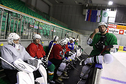 Right Brendan Yarema at second ice hockey practice of HDD Tilia Olimpija on ice in the new season 2008/2009, on August 19, 2008 in Hala Tivoli, Ljubljana, Slovenia. (Photo by Vid Ponikvar / Sportal Images)