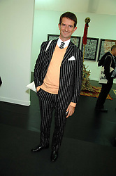 COUNT MANFREDIE DELLA GHERARDESCA at the opening of Frieze Art Fair 2007 held in regent's Park, London on 10th October 2007.<br />