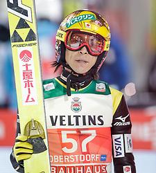 28.12.2015, Schattenbergschanze, Oberstdorf, GER, FIS Weltcup Ski Sprung, Vierschanzentournee, Qualifikation, im Bild Noriaki Kasai (JPN) // Noriaki Kasai of Japan// during his Qualification Jump for the Four Hills Tournament of FIS Ski Jumping World Cup at the Schattenbergschanze, Oberstdorf, Germany on 2015/12/28. EXPA Pictures © 2015, PhotoCredit: EXPA/ Peter Rinderer