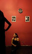 """Barranco. During a flamenco lesson at """"Teatro Mocha Graña"""""""