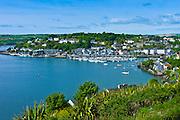 Popular tourist destination Kinsale harbour from Scilly, County Cork, Ireland