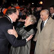 NLD/Apeldoorn/20080119 - Verjaardag Pr. Margriet 65 jaar, ouders Anita van Eijk