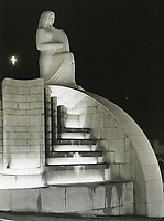 1940 Entrance statue at The Hollywood Bowl