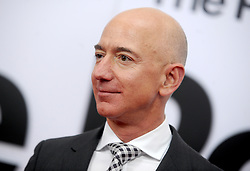 Amazon.com founder Jeff Bezos became the richest man in the world whose net worth topped $100 billion at the end of November. Picture of Jeff Bezos arriving on the red carpet for The Post premiere at the Newseum on December 14, 2017 in Washington, DC, USA. Photo by Dennis Van Tine/ABACAPRESS.COM