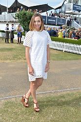 VICTORIA PENDLETON at the Laureus Polo held at Ham Polo Club, Ham, Richmond, Surrey on 18th June 2015.