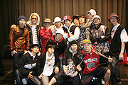 The cast of Ballerina loves B-Ball at the South Pole Fashion show during ' The Stay in School Concert ' facilated by Entertainers for Education held at The Manhattan Center on October 28, 2008 in New York City