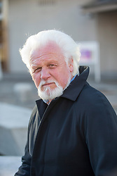 Ronnie Browne, the Scottish folk musician and founding member of The Corries, attending The Scottish Parliament.