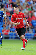 Cardiff city's Joe Mason in action. Pre season friendly match, Cardiff city v Athletic Club Bilbao at the Cardiff city stadium in Cardiff,  South Wales on Saturday 10th August 2013. pic by Andrew Orchard,  Andrew Orchard sports photography,