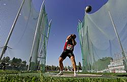 13.09.2011, Sportski Park Mladost, CRO, Athletics Meeting, IAAF World Challenge, Zagreb 2011, im Bild Krisztian Pars // during Athletics Meeting, IAAF World Challenge, Zagreb 2011 at Sportski Park Mlados in Zagreb Croatia on 13/09/2011. EXPA Pictures © 2011, PhotoCredit: EXPA/ nph/ Pixsell +++++ ATTENTION - OUT OF GERMANY/(GER), CROATIA/(CRO), BELGIAN/(BEL) +++++