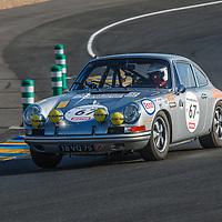 #67 1968 Porsche 911 T/R, drivers: Claudia Hürtgen, Arndt Ellinghorst, Helmut Hutter – Grid 5 on 06/07/2018 at the Le Mans Classic, 2018