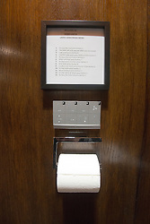 Stobo Castle has just spent over £100,000 creating the most luxurious ladies loos which even feature toilets with wash and blow dry facilities, believed to be a first in Scotland. Instructions for the toilet.
