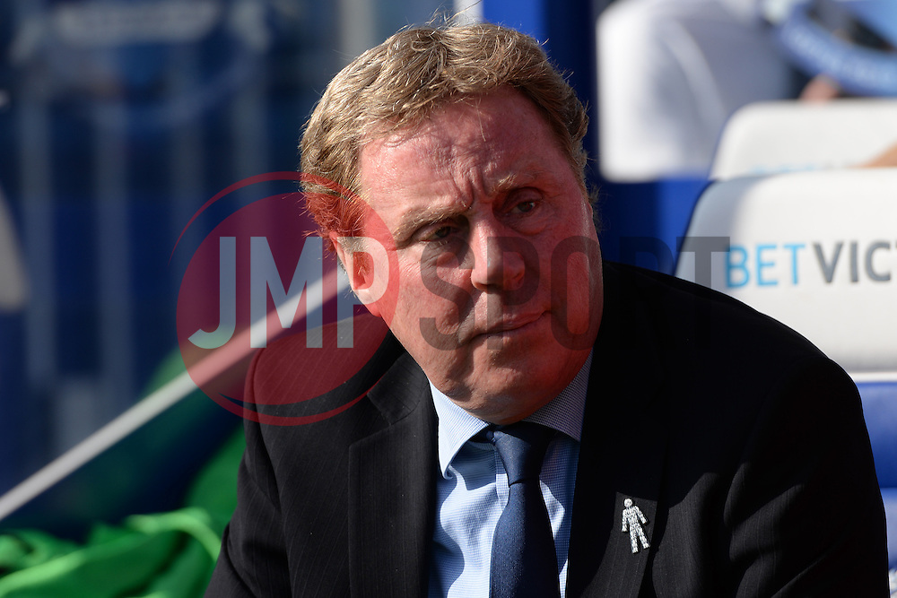 QPR's manager Harry Redknapp - Photo mandatory by-line: Mitchell Gunn/JMP - Tel: Mobile: 07966 386802 29/03/2014 - SPORT - FOOTBALL - Loftus Road - London - Queens Park Rangers v Blackpool - Championship
