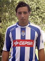 Fotball<br /> Foto: Miguelez/Digitalsport<br /> NORWAY ONLY<br /> <br /> 02.08.2006  <br /> Santi (Recreativo Huelva)