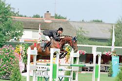 Van Asten Mathijs-Odalinda<br />KWPN Paardendagen 2001<br />Photo © Dirk Caremans