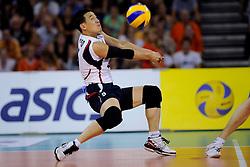 08-07-2010 VOLLEYBAL: WLV NEDERLAND - ZUID KOREA: EINDHOVEN<br /> Nederland verslaat Zuid Korea met 3-0 / Oh Hyun Yeo<br /> ©2010-WWW.FOTOHOOGENDOORN.NL