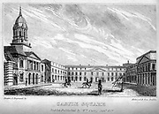 Castle Square, Dublin From the guide book ' The new picture of Dublin : or Stranger's guide through the Irish metropolis, containing a description of every public and private building worthy of notice ' by Hardy, Philip Dixon, 1794-1875. Published in Dublin in 1831 by W. Curry.