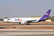 Israel, Ben-Gurion international Airport FedEx - Federal Express Airbus A310-324(F), N802FD,  (FDX)