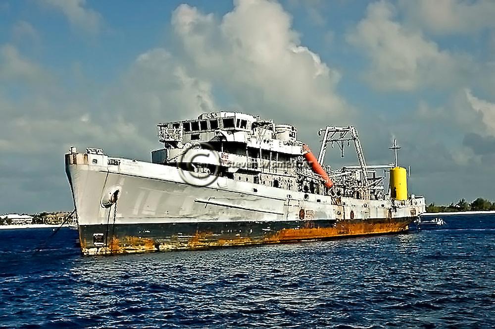 USS Kittiwake, prior to scuttling