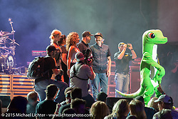 Stage presentations at the Buffalo Chip during the 75th Annual Sturgis Black Hills Motorcycle Rally.  SD, USA.  August 2, 2015.  Photography ©2015 Michael Lichter.
