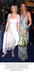Fashion writers Left to right, SUSANNAH CONSTANTINE and TRINNY WOODALL, at a reception in London on 23rd February 2003.	PHK 203