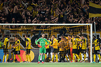 BERN, SWITZERLAND - SEPTEMBER 14: David de Gea of Manchester United shows ejection as BSC Young Boys celebrate their late winner during the UEFA Champions League group F match between BSC Young Boys and Manchester United at Stadion Wankdorf on September 14, 2021 in Bern, Switzerland. (Photo by FreshFocus/MB Media)