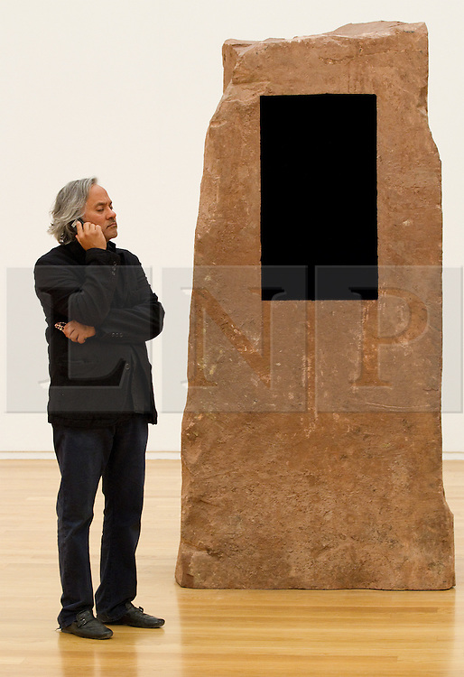 """© licensed to London News Pictures. UK 10/05/2011. The sculptor, Anish Kapoor, has condemned China for what he described as the state's """"barbaric"""" detention of the artist Ai Weiwei. He has called on British galleries to close for a day in pretest. Kapoor also dedicated his art installation, """"Leviathan"""", just unveiled in Paris, to the Chinese artist.  FILE PICTURE DATED 03/03/2011. Please see special instructions for usage rates. Photo credit should read Joel Goodman/LNP"""