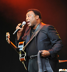George Benson<br /> live at Kenwood House Picnic Concerts , Hampstead, London, Great Britain <br /> 2nd July 2011 <br /> <br /> George Benson (born March 22, 1943) is a multi-Grammy Award winning American musician.<br /> <br /> George Benson <br /> <br /> <br /> Photograph by Elliott Franks