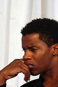 Nate Parker at ' The Young Hollywood ' panel at The 2008 American Black Film Festival  held at The Writers Guild of America on August 9, 2008...The Festival film slate is primarily composed of world premieres (shorts, narrative features and documentaries), positioning it as the leading film festival in the world for African American and urban content. Since its inception ABFF, has screened over 450 films and has rewarded and redefined artistic excellence in independent filmmaking.