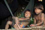 Indígenas emberá / comunidad indígena emberá, Panamá.