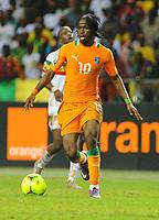 fotball<br /> Gervinho (Cote d Ivoire)  -  Cote d Ivoire / Mali - Coupe d Afrique des Nations - DemiFinale - 08.02.2012 - <br /> Norway only