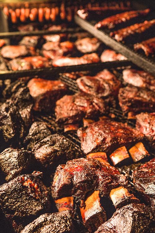 Beef ribs at Blacks BBQ in Lockhart texas