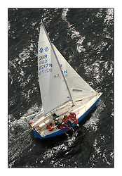 Sailing - The 2007 Bell Lawrie Scottish Series hosted by the Clyde Cruising Club, Tarbert, Loch Fyne..Brilliant first days conditions for racing across the three fleets...National Sonata GBR8217 So.
