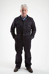 Workman dressed in overalls, Cleared for Mental Health and depression,