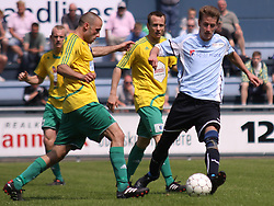 FODBOLD: Kienn Jensen (Helsingør) under kampen i Danmarksserien, pulje 1, mellem Elite 3000 Helsingør og Skovlunde IF den 6. juni 2010 på Helsingør Stadion. Foto: Claus Birch