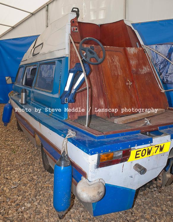 Richard Hammond's Dampervan, World of Top Gear, National Motor Museum, Beaulieu, Brockenhurst, Hampshire, Britain - 2009