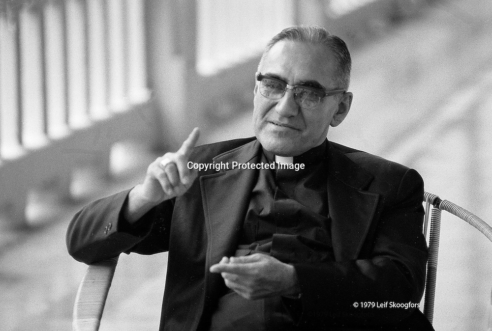 Óscar Arnulfo Romero y Galdámez (15 August 1917 – 24 March 1980)[3] was a prelate of the Catholic Church in El Salvador, who served as the fourth Archbishop of San Salvador. He spoke out against poverty, social injustice, assassinations and torture. In 1980, Romero was assassinated while offering Mass in the chapel of the Hospital of Divine Providence.