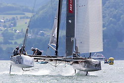 Final day of the Austria Cup 2014, 01-06-2014 (28 May - 1 June 2014). Gmunden - Lake Traunsee - Austria.