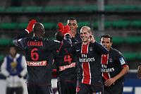 FOOTBALL - FRENCH LEAGUE CUP 2010/2011 - 1/4 FINAL - VALENCIENNES FC v PARIS SAINT GERMAIN - 10/11/2010 - PHOTO ERIC BRETAGNON / DPPI - JOY PSG