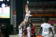 LINE OUT during the Gallagher Premiership Rugby match between Gloucester Rugby and Bristol Rugby at the Kingsholm Stadium, Gloucester, United Kingdom on 12 February 2021.